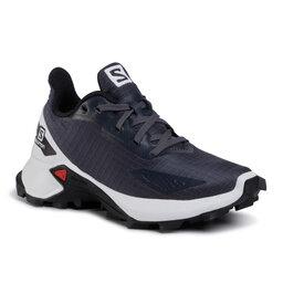 Salomon Взуття Salomon Alphacross Blast J 411160 09 W0 India Ink/White/Black