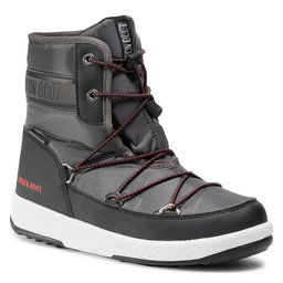 Moon Boot Снігоходи Moon Boot Boot Jr Boy Mid Wp 2 34052500002 D Black/Castlerock