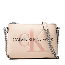 Calvin Klein Jeans Rankinė Calvin Klein Jeans Sculpted Camera Pouch W/Cha Mono K60K608688 AEO