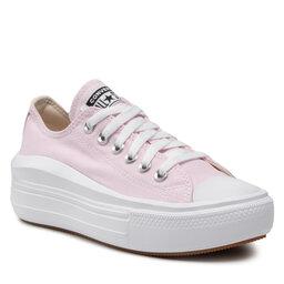 Converse Sportbačiai Converse Ctas Move Ox 571579C Pink Foam/White/White
