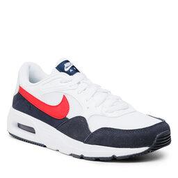 Nike Batai Nike Air Max Sc CW4555 103 White/University Red/Obsidian