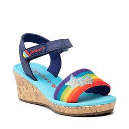 Skechers Босоніжки Skechers Toe-Tally Sweet 302122L/BLMT Blue/Multi