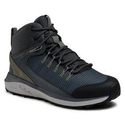 Columbia Трекінгові черевики Columbia Trailstorm Mid Waterproof BM0155 Graphite/Creek 053