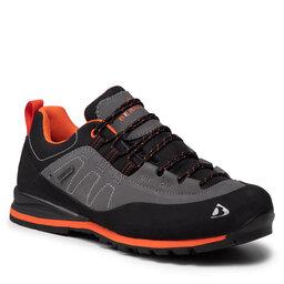 Bergson Трекінгові черевики Bergson Kibo Low Stx Anthracite/Grey