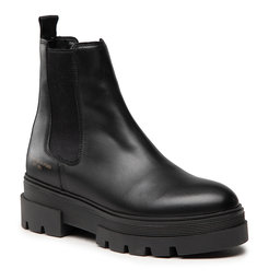 Tommy Hilfiger Štibletai Tommy Hilfiger Monochromatic Chelsea Boot FW0FW05950 Black BDS
