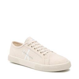 Calvin Klein Jeans Кросівки Calvin Klein Jeans Vulcanized Sneaker Laceup Co YM0YM00254 Muslin ACJ