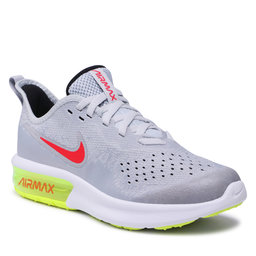 Nike Взуття Nike Air Max Sequent 4 (Gs) AQ2244 007 Wolf Grey/Red Orbit