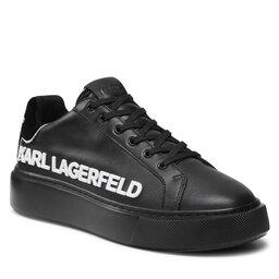 KARL LAGERFELD Снікерcи KARL LAGERFELD KL62210 00X Black Lthr/Mono