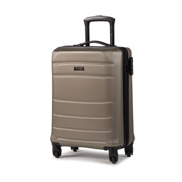 Wittchen Мала тверда валіза Wittchen 56-3A-651-86 Сірий