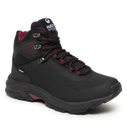 Halti Трекінгові черевики Halti Fara Mid 2 Dx W Walking Shoe 054-2623 Black/Beet Red