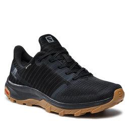 Salomon Трекінгові черевики Salomon Outbound Prism Gtx W GORE-TEX 412715 23 M0 Black/Black/Gum1a