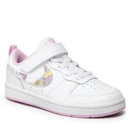 Nike Взуття Nike Court Borough Low 2 Se (PSV) CZ6613 100 White/Multi Color