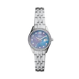 Fossil Годинник Fossil Micro Scarlette ES5074 Silver/Silver