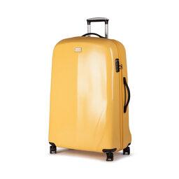 Wittchen Велика тверда валіза Wittchen 56-3P-573-50 Жовтий