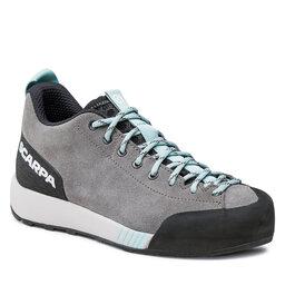 Scarpa Трекінгові черевики Scarpa Gecko 72602-352 Midgray/Aqua