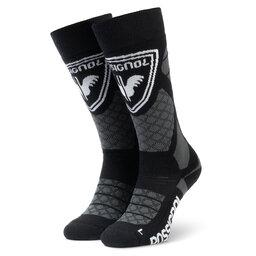 Rossignol Ilgos Unisex Kojinės Rossignol L3 Wool & Silk RLIMX03 Black 200