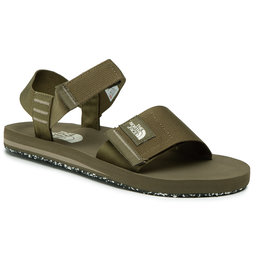 The North Face Basutės The North Face Skeena Sandal NF0A46BGZH4 Military Olive/Mineral Grey