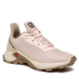 Salomon Взуття Salomon Alphacross 3 W 414464 20 W0 Peachy Keen/Rainy Day/Kelp
