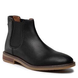 Clarks Štibletai Clarks Jaxen Chelsea 261627297 Black Leather