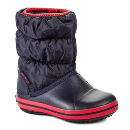Crocs Снігоходи Crocs Winter Puff 14613 Navy/Red