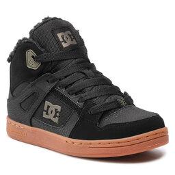 DC Laisvalaikio batai DC Pure High-Top Wnt ADBS100245 Black/Olive(BO0)