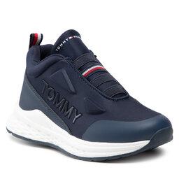 Tommy Hilfiger Laisvalaikio batai Tommy Hilfiger Low Cut Sneaker T3B4-32082-1231 M Blue 800