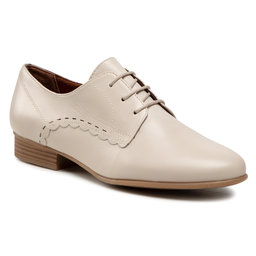 Tamaris Оксфорди Tamaris 1-23218-26 Cream Leather 438