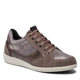 Geox Laisvalaikio batai Geox D Myria B D1668B 022PZ C5005 Ruda