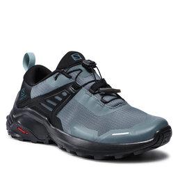 Salomon Turistiniai batai Salomon X Raise W 410415 23 M0 Stormy Weather/Black/Lead