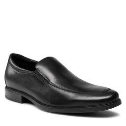 Clarks Pusbačiai Clarks Howard Edge 261622467 Black Leather