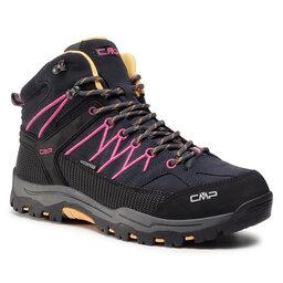 CMP Трекінгові черевики CMP Kids Rigel Mid Trekking Shoes Wp 3Q12944J Antracite/Bouganville