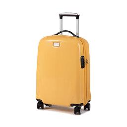 Wittchen Мала тверда валіза Wittchen 56-3P-571-50 Жовтий