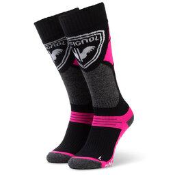 Rossignol Високі дитячі шкарпетки Rossignol L3 Jr Premium Wool RLIYX01 Fluo Pink 366