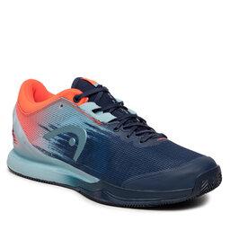 Head Batai Head Sprint Pro 3.0 Clay 273011 Dress Blue/Neon Red 075
