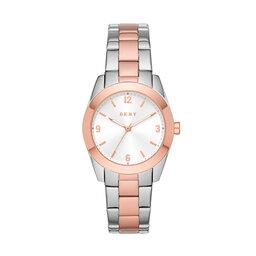 DKNY Годинник DKNY Nolita Silver/Pink
