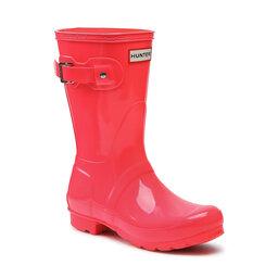 Hunter Гумові чоботи Hunter Original Short Gloss WFS2000RGL Hyper Pink
