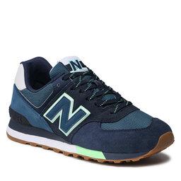 New Balance Laisvalaikio batai New Balance ML574PU2 Tamsiai mėlyna