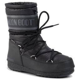 Moon Boot Sniego batai Moon Boot Mid Nylon Wp 24009200001 Black
