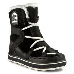 Sorel Sniego batai Sorel Glacy Explorer Shortie NL2079 Black 010