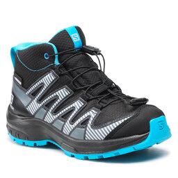 Salomon Взуття Salomon Xa Pro V8 Mid Cswp J 413449 09 W0 Black/Monument/Hawaiian Ocean