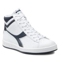 Diadora Laisvalaikio batai Diadora Game P High 101.160277 01 C4656 White/Blue Denim