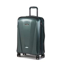 Wittchen Середня тверда валіза Wittchen 56-3P-122-85 Зелений