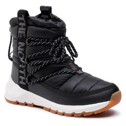 The North Face Sniego batai The North Face Thermoball Lace Up NF0A4AZGVD6 Tnf Black/Whisper White