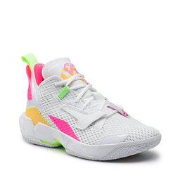 Nike Batai Nike Jordan Why Not Zero.4 CQ4230 102 White/Citron Pulse/Hyper Pink