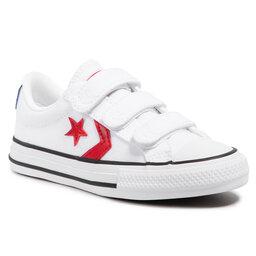 Converse Sportbačiai Converse Star Player 3v Ox 670227C White/University Red/Blue