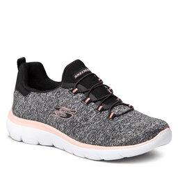 Skechers Batai Skechers Quick Getaway 12983/BKCL Black/Coral