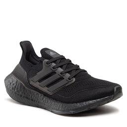 adidas Batai adidas Ultraboost 21 W FZ2762 Cblack/Cblack/Cblack