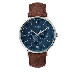 Timex Годинник Timex Southview TW2T35100 Brown/Silver