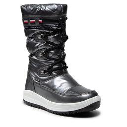 Tommy Hilfiger Sniego batai Tommy Hilfiger Snow Boot T3A6-32035-1240 S Dark Silver 918