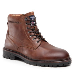 Pepe Jeans Черевики туристичні Pepe Jeans Ned Boot Lth PMS50210 Tan 869